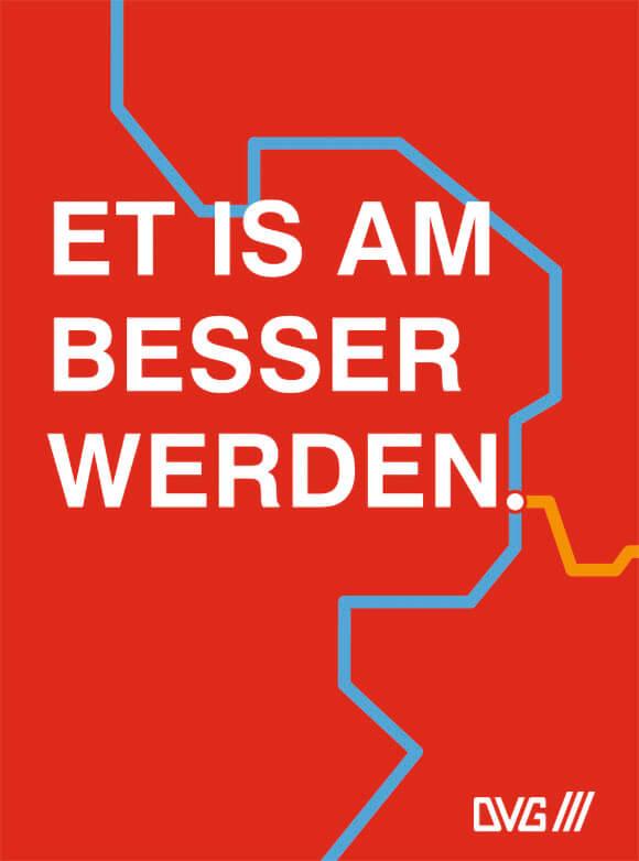 DVG Duisburg Kampagne fahrplanwechsel et is am besser werden